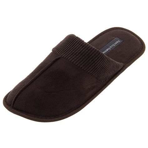 slip on slippers for perry ellis portfolio brown slip on slippers for