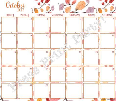 printable bullet journal calendar 2017 calendar printable for bullet journals watercolor