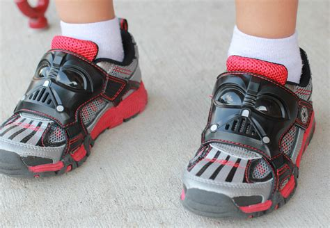 darth vader light up sneakers star wars by stride rite vader light sound sneakers