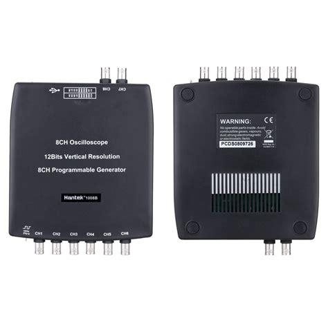 Best Hantek 1008B 8CH USB 2.4MSa/s Automotive Diagnostic