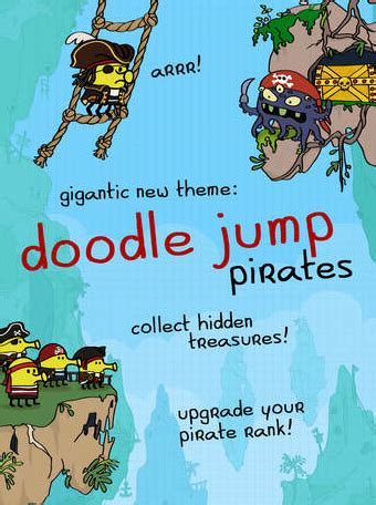 doodle jump pirate classic ios doodle jump updated with a new