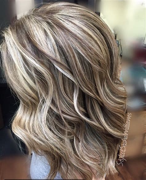 hairstyles for slightly grey highlighted hair highlights lowlights blonde hair blonde hairstyles dark