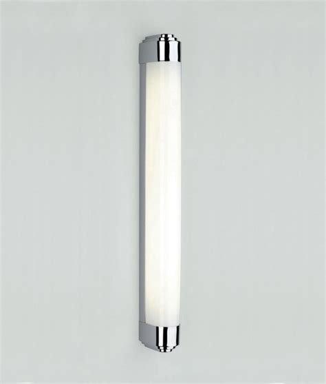 Long Light Fixture Chrome Art Deco Wall Light For Bathroom Mirrors And Walls