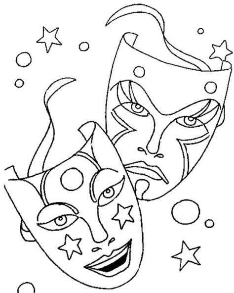 free printable mardi gras coloring pages for kids printable mardi gras masks for carnival coloring page