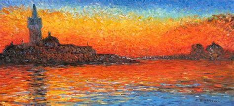 best painting venice twilight monet best painting