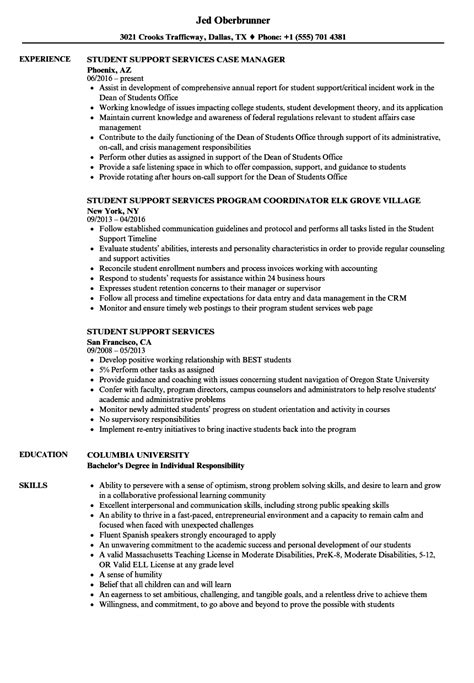 Support Services Resume Support Services - Technical Support Specialist CV Template