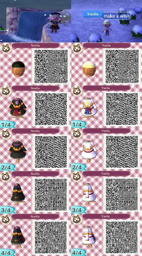 Best Coolest Acnl Hair Guide Images Rd 33131 | yuelia and noelia qr codes for acnl i loved these two