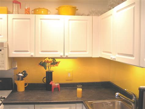 backsplash for yellow kitchen 13 best images about yellow glass splashbacks on