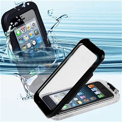 Waterproof Bag For Smartphone Up To 5 5 Pouch Anti Air Lock waterproof cell phone cases coque for iphon iphone 5 5s i phone5 water proof fundas