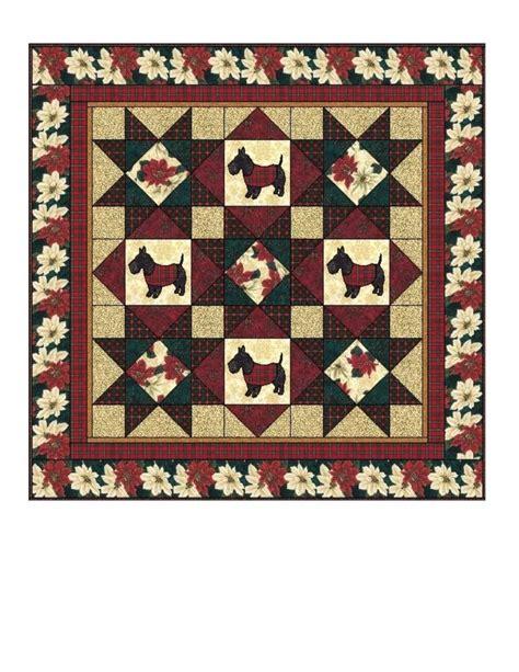Scottie Quilt Pattern by 109 Best Scottie Quilts Images On Quilts