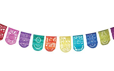 How To Make Mexican Paper Banners - papel picado la cara papel picado