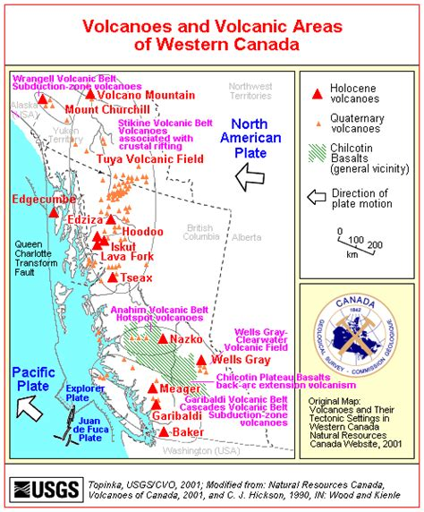 cascadia subduction zone volcanism in columbia