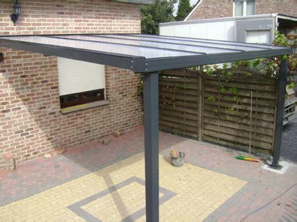 pavillon 7x4 auvent de terrasse en aluminium 7x4 5m makroshop