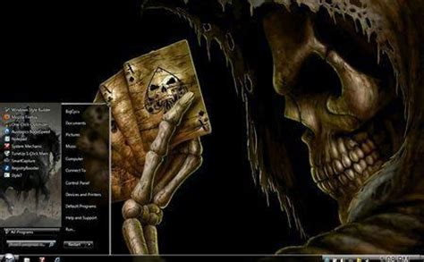 download themes for windows 7 skull download skull themes for nokia c60