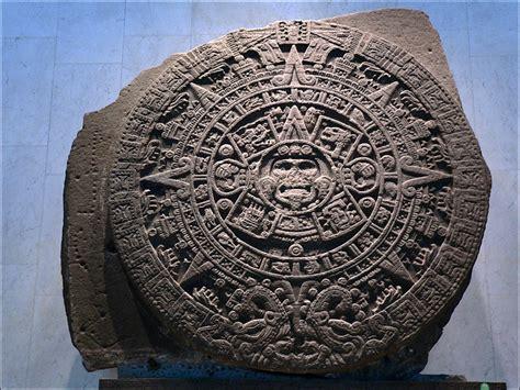 Calendario Azteca Y Piedra Sol La Piedra Sol O Calendario Azteca Historia Ciencia