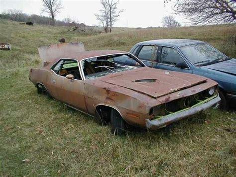 rusty muscle car rusty muscle cars