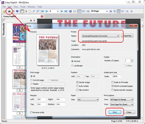 djvu format how to open convert djvu to pdf universal document converter