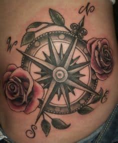 compass tattoo represents compass tattoo meaning symbolism