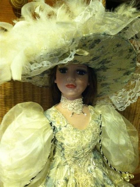 duck house heirloom dolls 5000 victorian style duck house 36 quot h heirloom porcelain doll 1388 5000