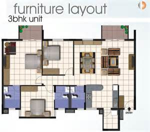 Floor Plan And Furniture Placement Floor Plans Sjr Equinox Electronic City Phase 1 Sjr