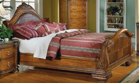 bed spanish homelegance spanish hills bedroom collection b851sl