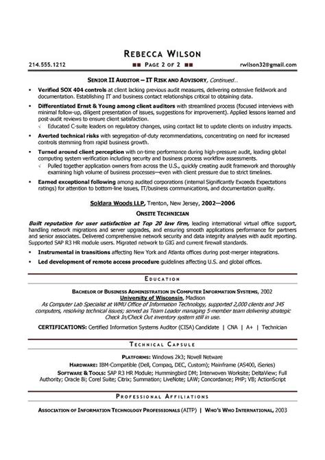 Auditor Resume by Auditor Resume Sle Best Professional Resumes Letters