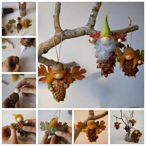 diy pinecone crafts diy pinecone ornaments diy craft projects
