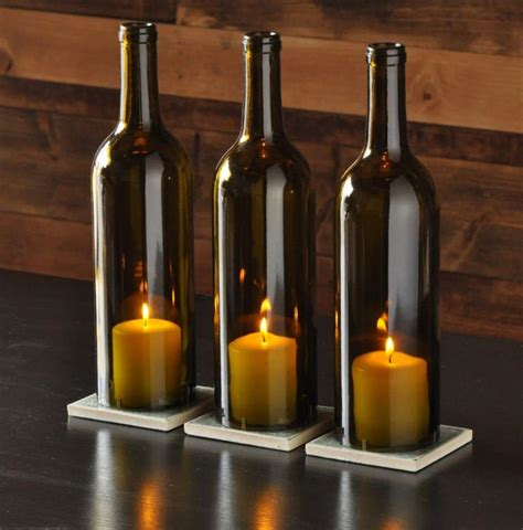wine bottles with candles in them best 25 wine bottle candles ideas on bottle