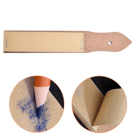 2017 Art Painting Sandpaper Block For Pencil Sharpening