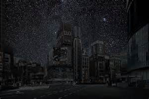 look at lights what major world cities look like at minus the