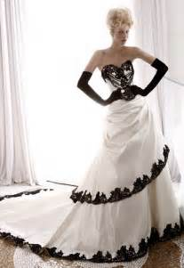 black and white wedding dresses a trusted wedding source