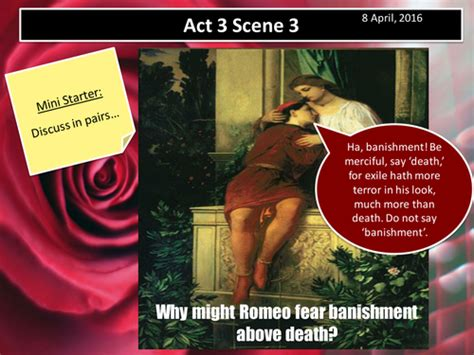 themes romeo and juliet act 3 scene 1 romeo and juliet act 3 scene 1 aqa new spec 2017 by f j