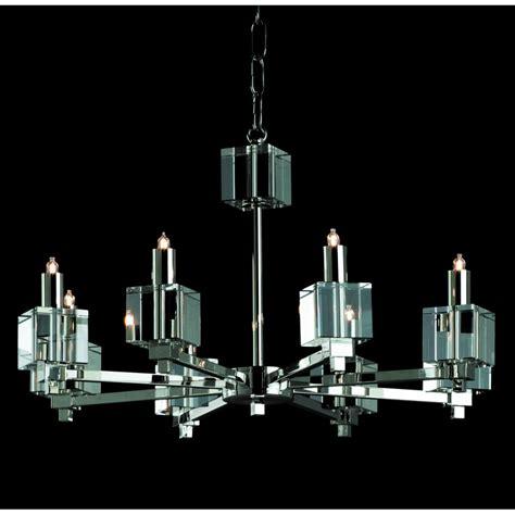 Halogen Chandelier Bulbs Sth06000 08 N Cube Halogen Chandelier Nickel