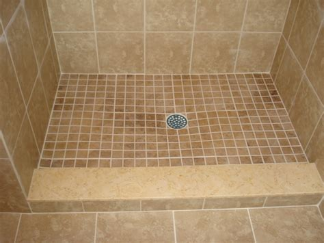 Installing Tile Shower Pan Tile Shower Pan In Enthralling In To Create A Gentle Slope Towards Tile Chosen Along With X X