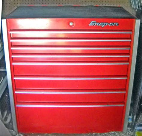 8 Drawer Snap On Tool Box snap on 8 drawer tool box used snap on 500 kendall