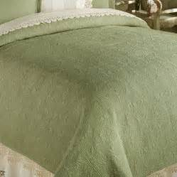 Sage Coverlet Sage Green Twin Full Queen Or King Quilt 100 Cotton