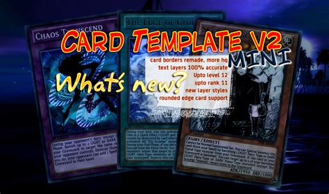yugioh card template hd yu gi oh card template v2 mini by celticguard on deviantart