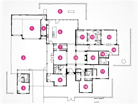 dream home blueprints hgtv dream home 2010 floor plan and rendering pictures
