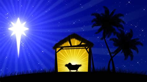 nativity scene  animated palm stock footage video  royalty   shutterstock