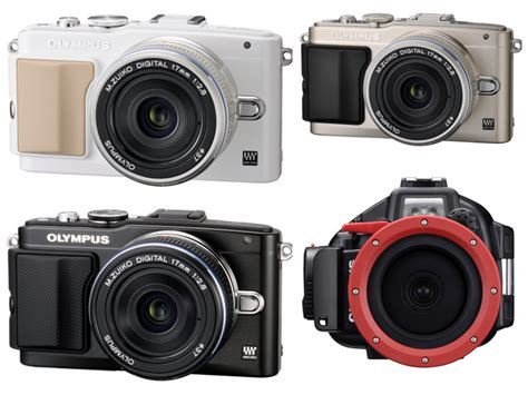 Olympus Pen Lite E Pl5 olympus pen lite epl5 micro four thirds ships in october