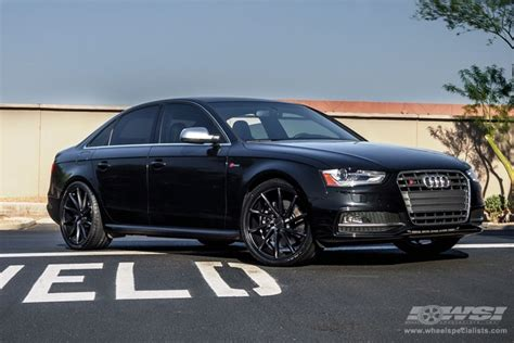 2014 audi s4 rims 2014 audi s4 with 20 quot vossen cvt in silver directional