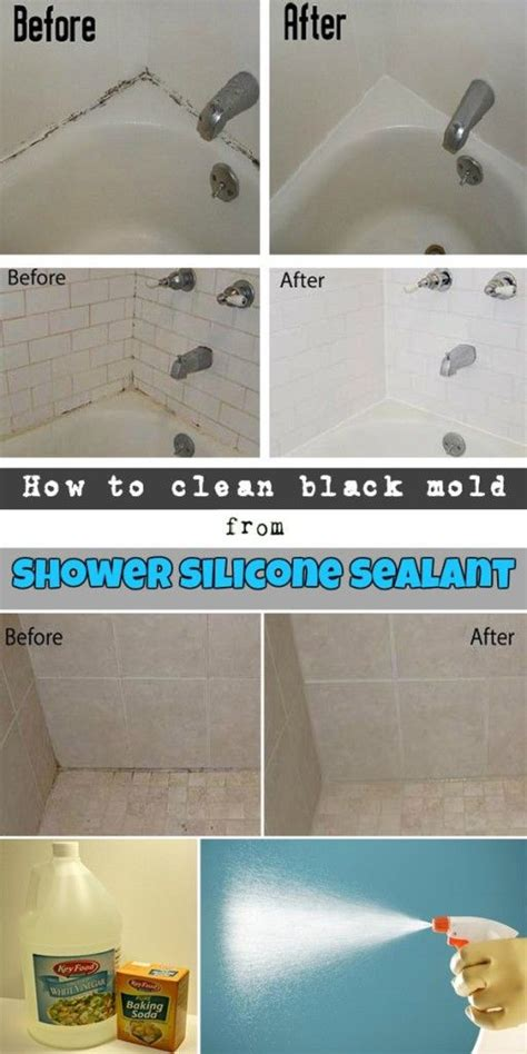how to remove bathroom silicone 25 best ideas about cleaning shower mold on pinterest