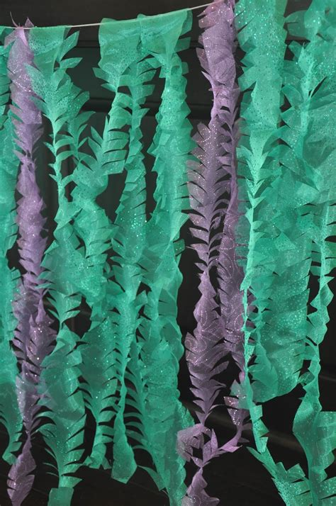 How To Make Seaweed Paper - these sparkly mermaid seaweed a diy