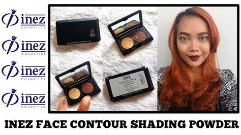 Makeup Kit Inez inez cosmetics contour kit shading powder judith cholya