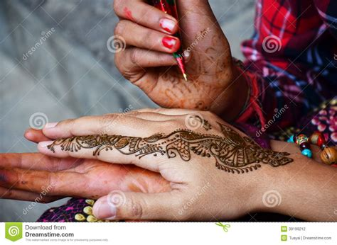 tattoo cost in nepal mehndi or henna india style at nepal stock photo image
