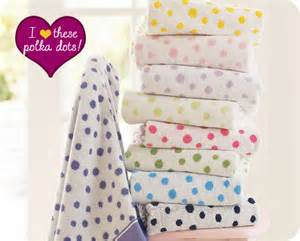 polka dot bath towels seeing spots organic polka dot towels