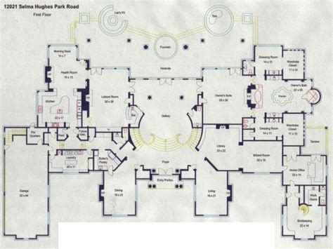 luxury mansion floor plans mega mansion floor plans luxury mansion floor plans