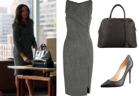Suits Pearson Wardrobe by Suits Season 6 Episode 10 Pearson S Grey Dress