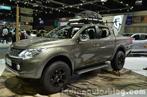 Joint Atas Pajero Sport Triton 2015 mitsubishi triton accessorized at the 2014 thailand international motor expo indian autos