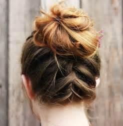 easy buns for shoulder length hair 54 easy updo hairstyles for medium length hair in 2017